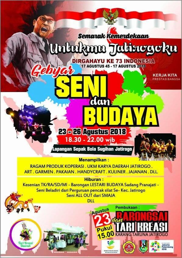 Gebyar Seni & Budaya Expo Jatirogo 2018