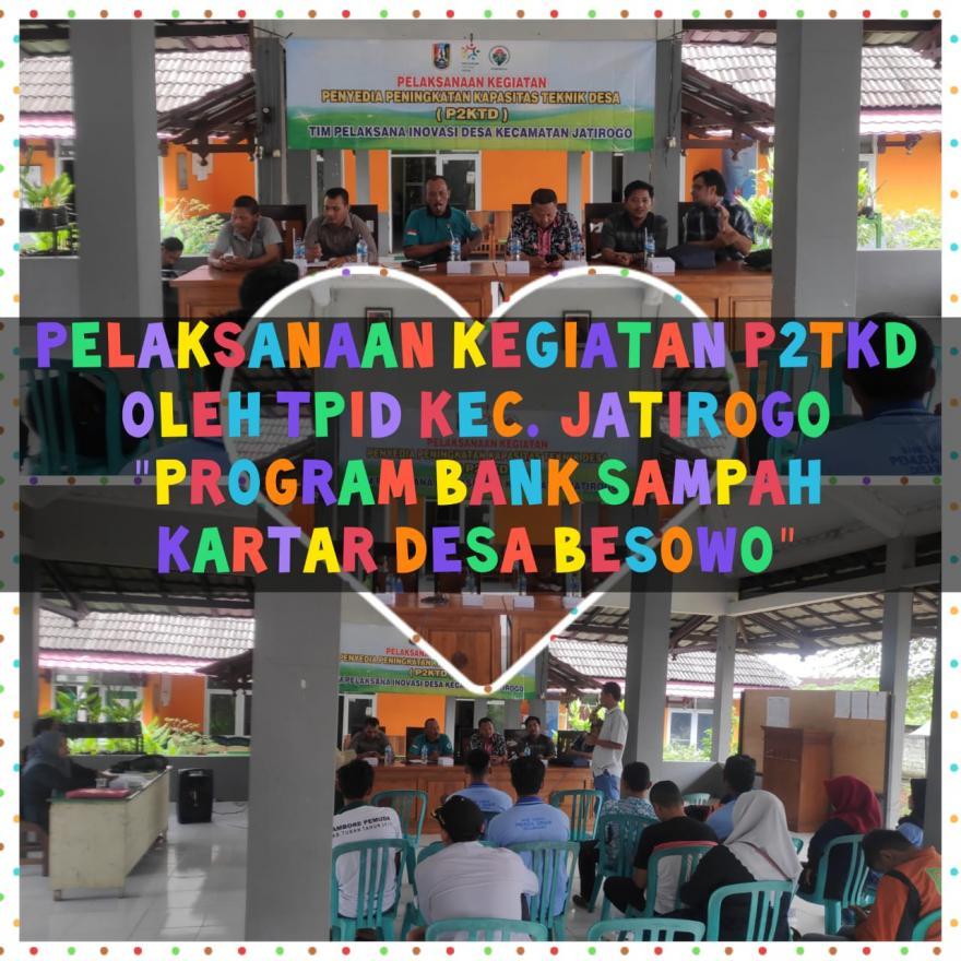 Pelaksanaan Kegiatan P2KTD Program Inovasi Desa