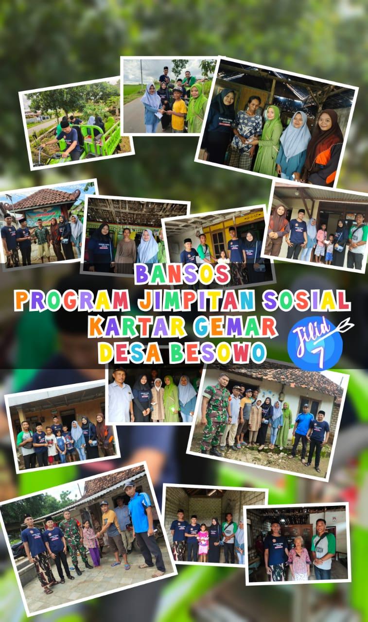 Konsistensi Program Jimpitan Sosial Kartar Gemar Desa Besowo