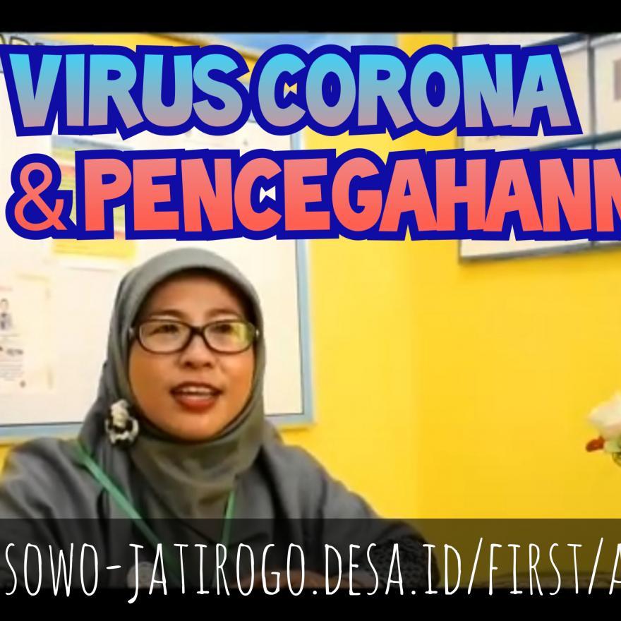 SEKILAS VIRUS CORONA (COVID-19) & TIPS PENCEGAHANNYA