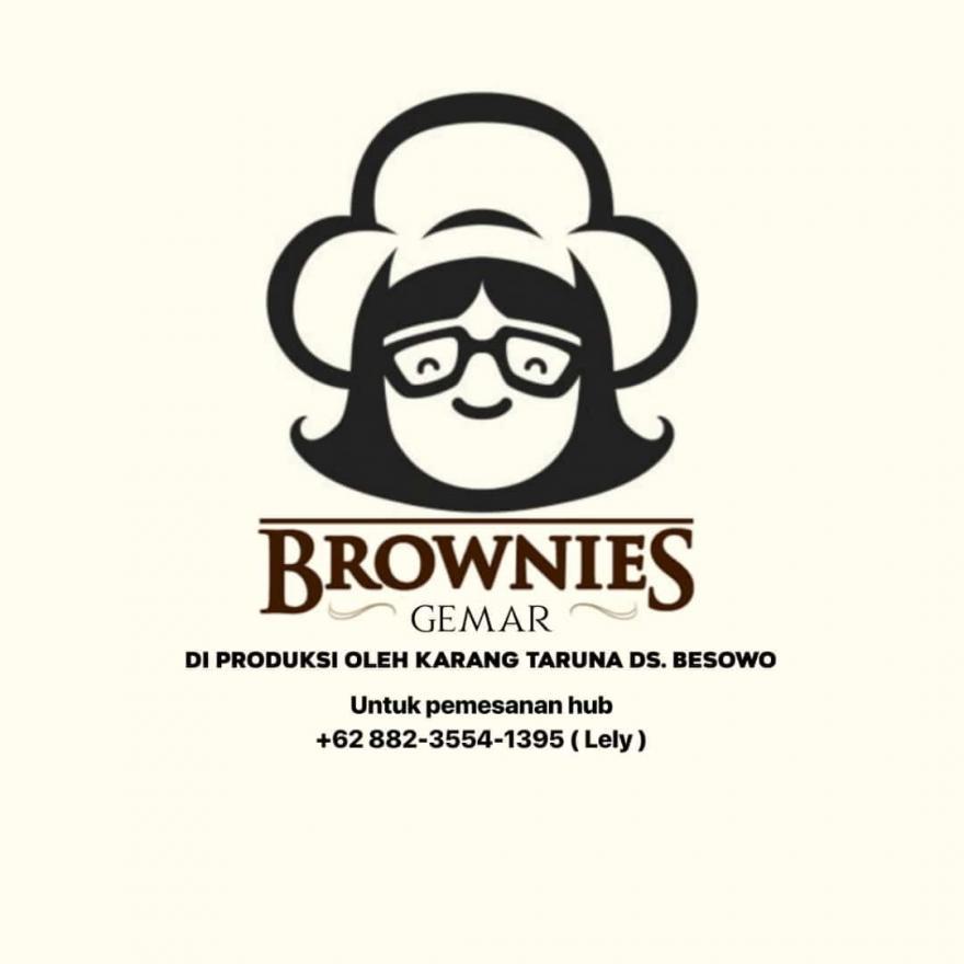 Produk Kue Brownies Karang Taruna Gemar Desa Besowo