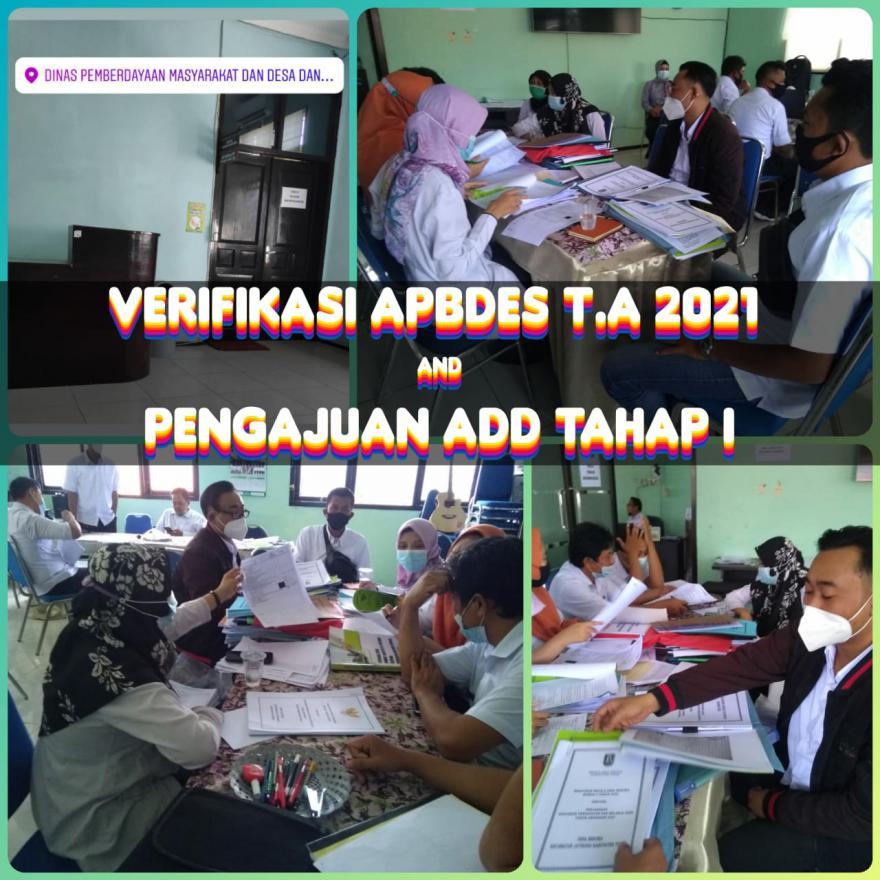 VERIFIKASI APBDESA T.A 2021 [DESA BESOWO]