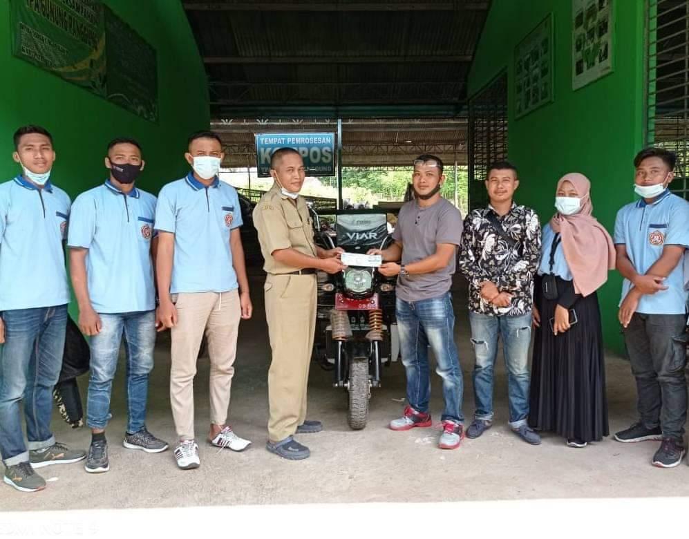 Kartar Gemar Desa Besowo mendapatkan bantuan dari Dinas Lingkungan Hidup Kab.Tuban
