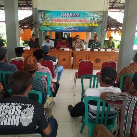 Album : Sosialisasi Pemilihan Kepala Desa 2019 oleh Paniti