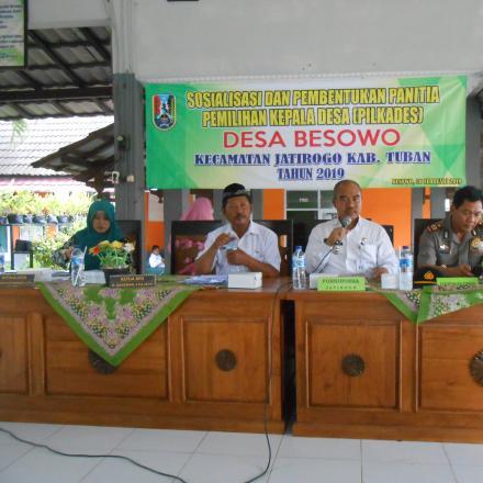 Album : Sosialisasi & Pembentukan Panitia PILKADES 2019