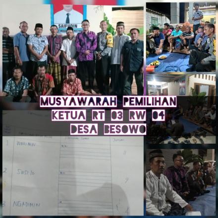 Album : Musyawarah Pemilihan RT RW Periode 2020-2025